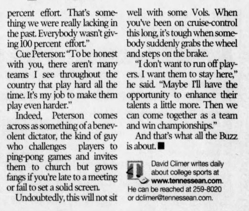 The Tennessean, April 5, 2001